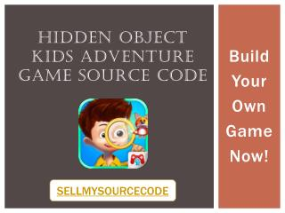 Hidden Object Kids Adventure Game Sourcecode