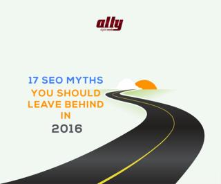 17 SEO Myths by Ally Digital Media