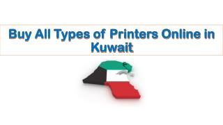 Buy All Types of Printers Online in Kuwait