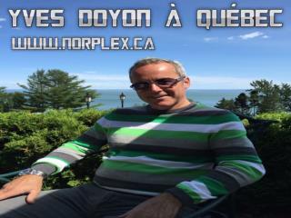 Yves Doyon à Québec