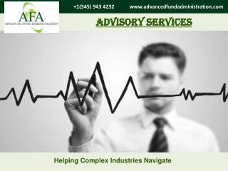 AFA is the most trusted name in Advisory services.