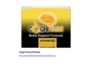 Superior Brain Booster - Cogni Focus