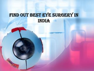 Eye surgery in India,