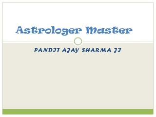 Best Astrologer and Love Marriage Specailist in Mumbai,Thane