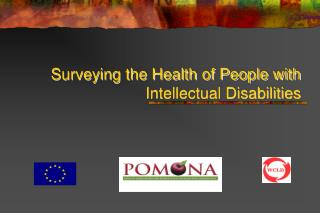 Surveying the Health of People with Intellectual Disabilities