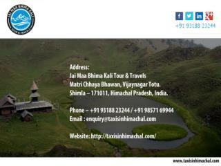 Best Tour deals in Himachal Pradesh