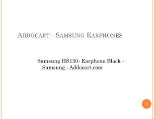 Addocart - Samsung Earphones