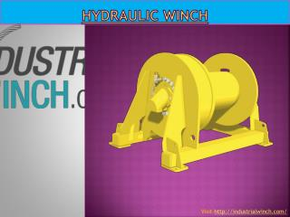 Hydraulic winch - Industrial Winch