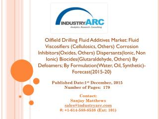 Oilfield Drilling Fluid Additives
