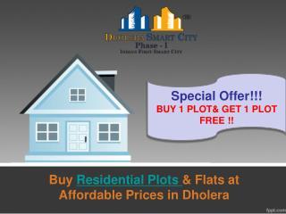 Dholera SIR Residential Plots at Best Rates