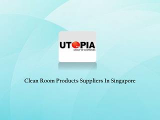 Cleanroom Equipments In Singapore