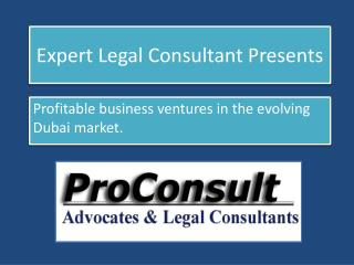 Corporate Advisor for Company formation in Dubai