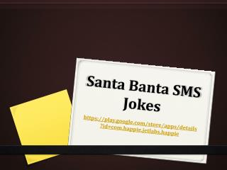 Santa Banta SMS Jokes
