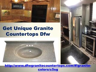 Get Unique Granite Countertops Dfw