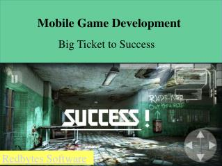 Mobile Game Development Services|Redbytes Software