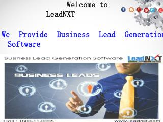 Business Lead Generation Software