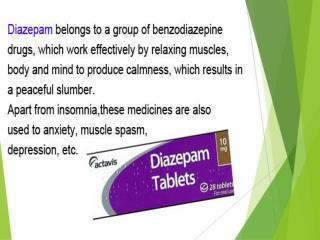 diazepam dosage forms ppt presentation