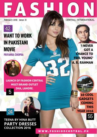 Fashion Central International Feb 2016 Issue Published
