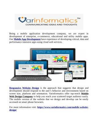 Responsive Website Design  Keyword
