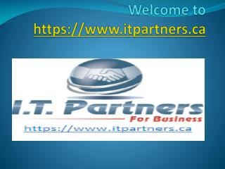 IT services company Alberta