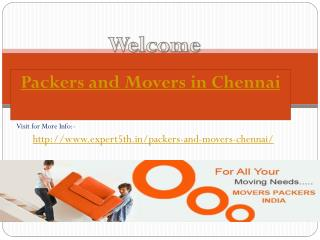 Expert Relocation Within Chennai visit Expert5th
