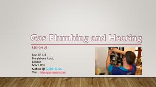Gas Plumbing and Heating Repairing Services in London