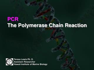 PCR The Polymerase Chain Reaction