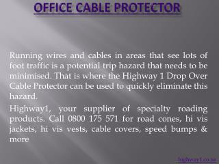 office cable protector