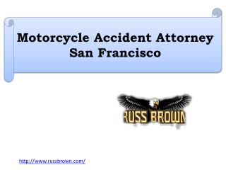 Motorcycle Accident Attorney San Francisco