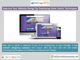 Website Monster a Leading Web Designing Company in India