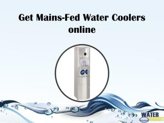 Get Mains-Fed Water Coolers Online