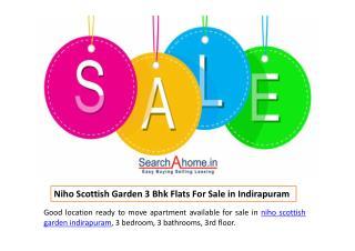 Niho Scottish Garden 3 Bhk Flats For Sale in Indirapuram