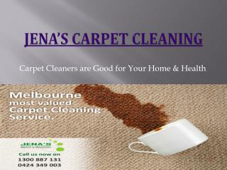 Carpet Cleaning Melbourne - Jenas carpet cleaning