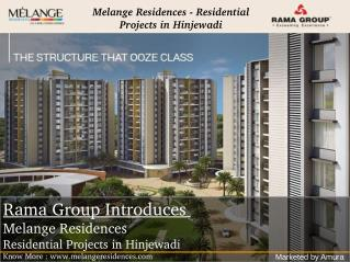 Melange Residences - 3 Bhk Flats in Hinjewadi