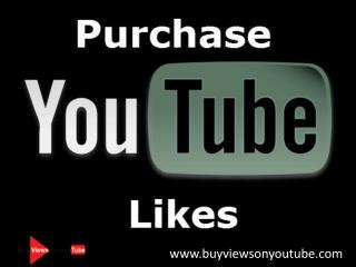 Purchase YouTube Likes