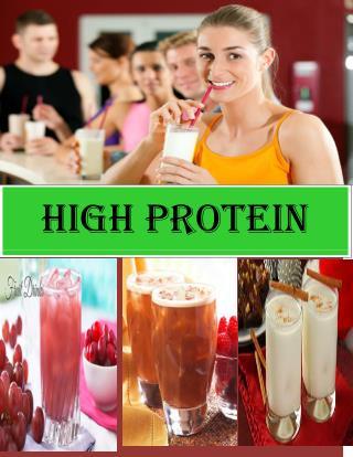High Protein Diet Drinks