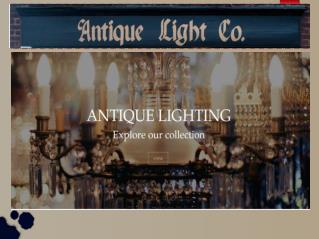 Antique Lighting Design Australia