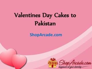 Valentines Day Cakes  to Pakistan