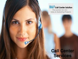 Lead Generation Call Centers
