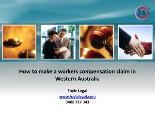 How to make a workers compensation claim in Western Australia