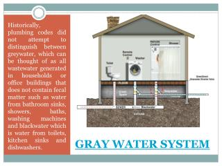 Grey Water Systems