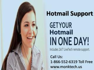Hotmail support tollfree number 1-866-552-6319