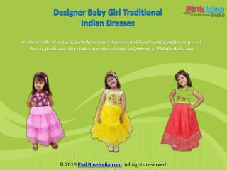 Exclusive Designer Indian Kids Dresses for Girls