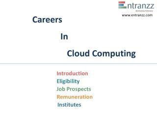 Careers In Cloud Computing