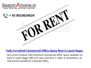 Office For Rent 360 Sq Ft Main Vikas Marg Shakarpur East Delhi
