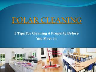 Move in Cleaning Melbourne - Polar cleaning