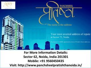 panchsheel pratishtha offer 2/3 BHK in Noida Call us  919560450435