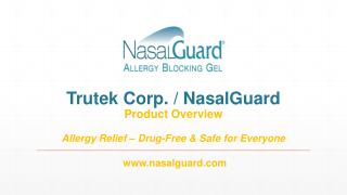 US NasalGuard  Product Presentation