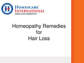 Homeopathy Remedies For Hair Fall