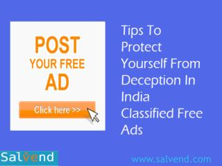 India Classified Free Ads